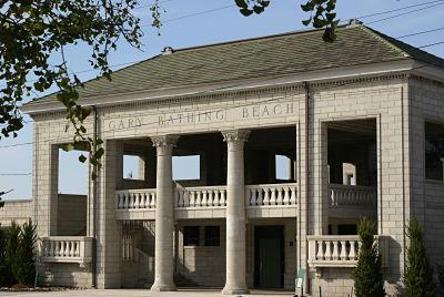 The Gary Bathing Beach Aquatorium Was Designed By George W Maher Son In Neo Clical Style It Constructed 1921 And Is Listed On National